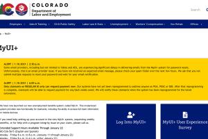 colorado myui+ unemployment