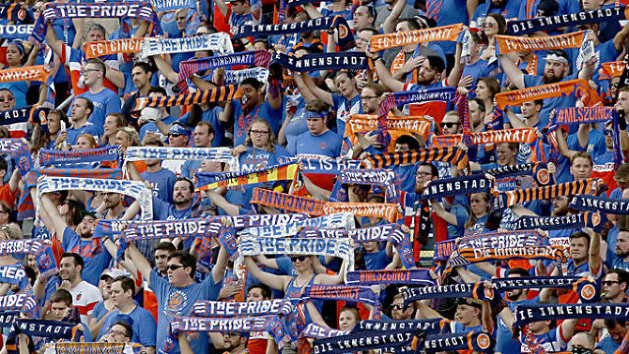 FC Cincinnati announces season ticket prices, process for 2019 Major League Soccer debut