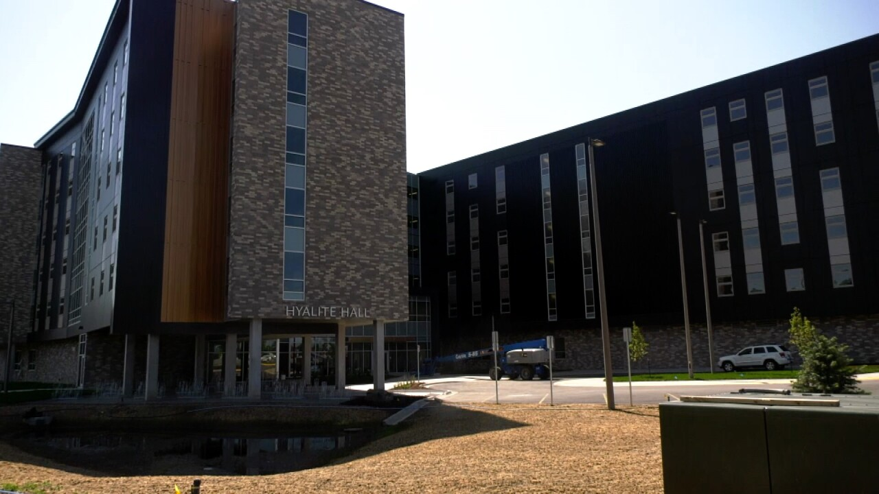 MSU's Hyalite Hall prepares for hundreds of students, grand opening
