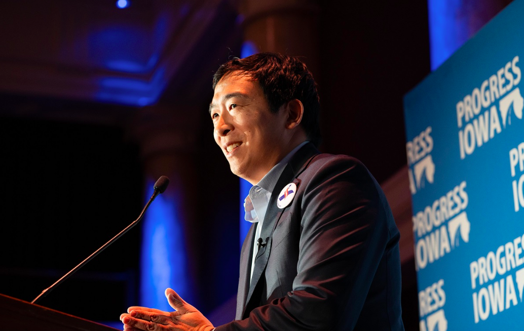 Andrew Yang is an entrepreneur who announced his candidacy in November 2017.