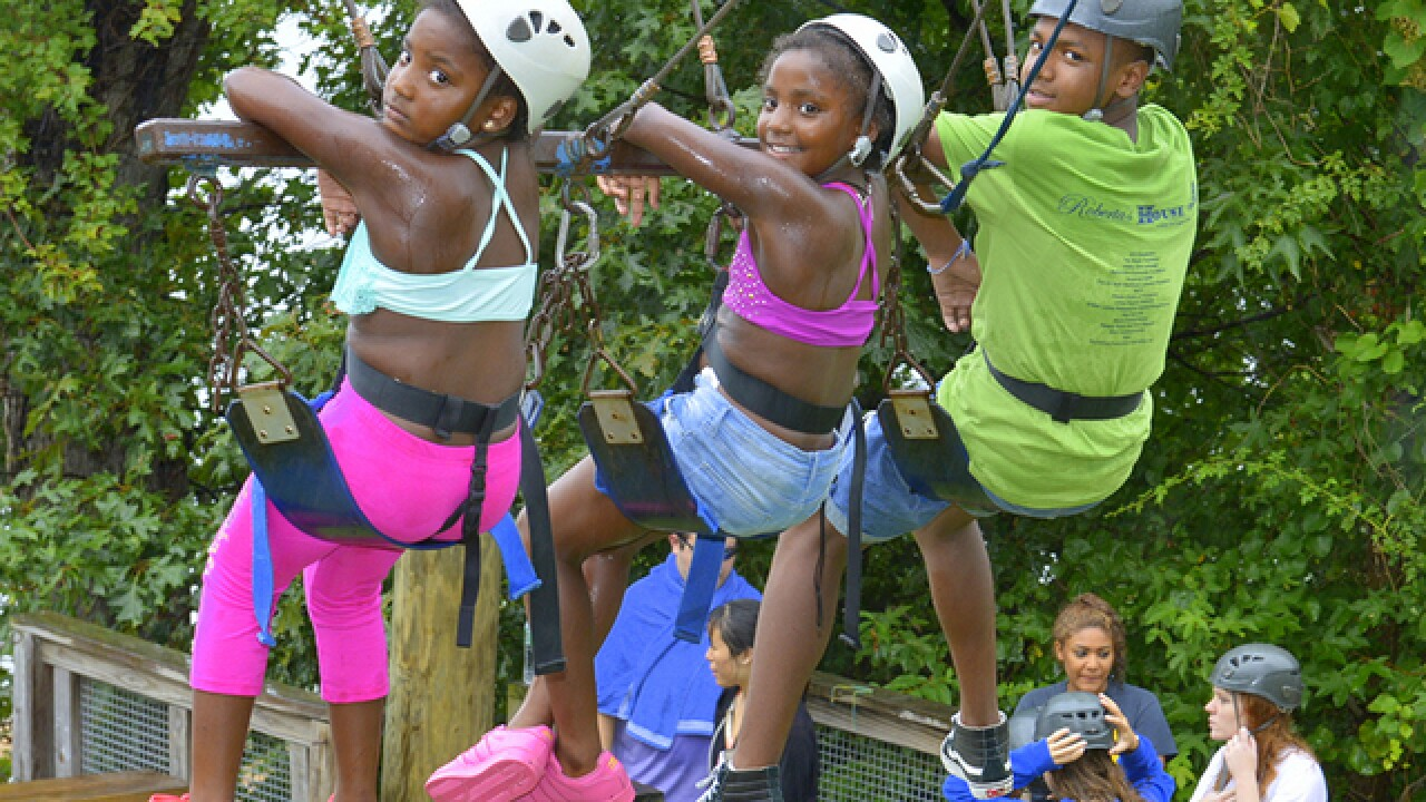 99 Baltimore kids learn coping and adventure