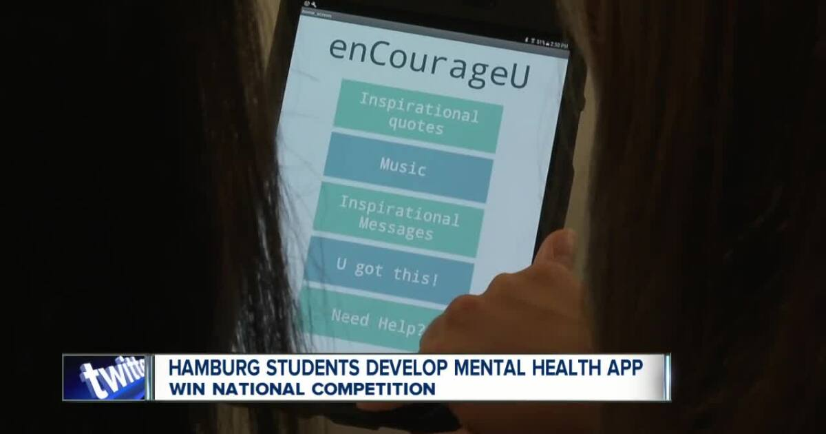 Hamburg students create mental health app