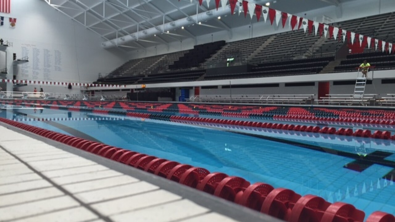 PHOTOS: IUPUI Natatorium reopens