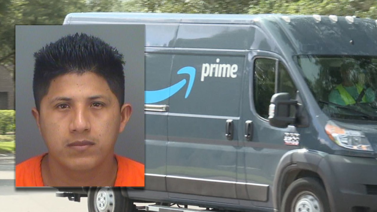 Driver Delivering Amazon Packages Arrested For Stealing