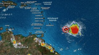 Dorian upgraded to hurricane as storm closes in on Puerto Rico
