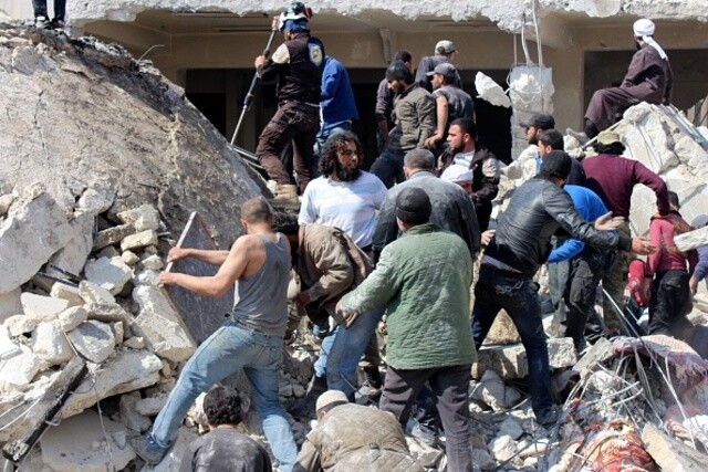 Photos: Syria devastated by civil war, chemical attack