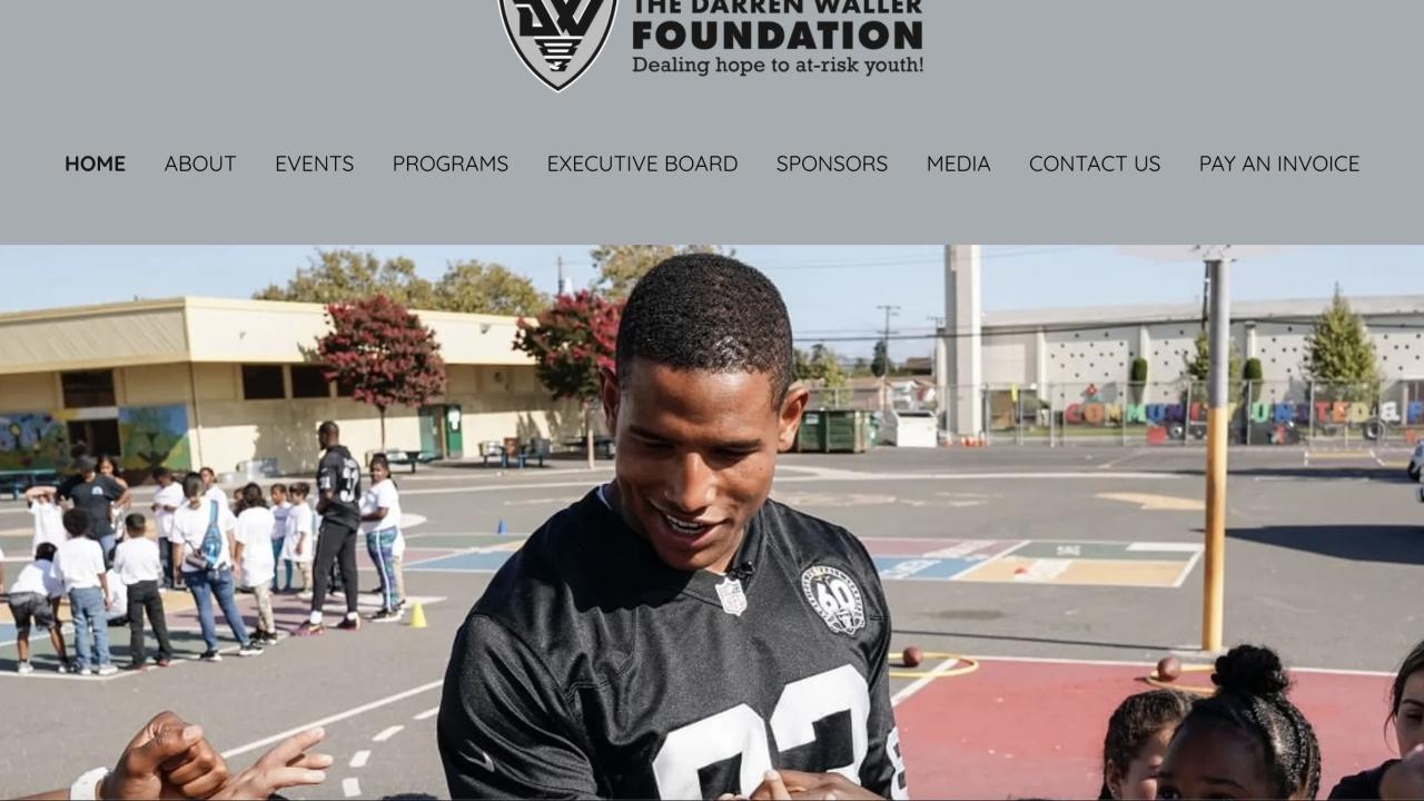 Darren waller foundation