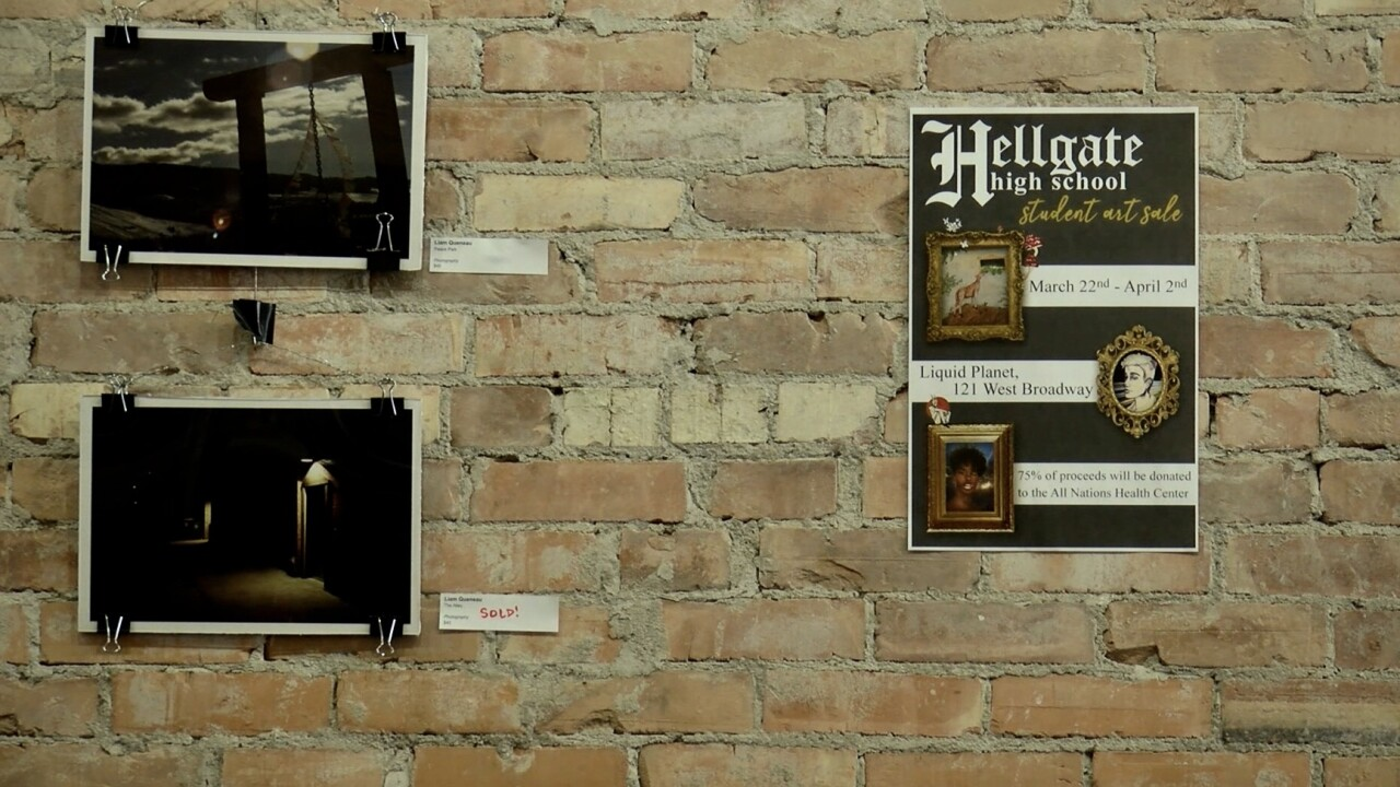 Hellgate Student Art Exhibit