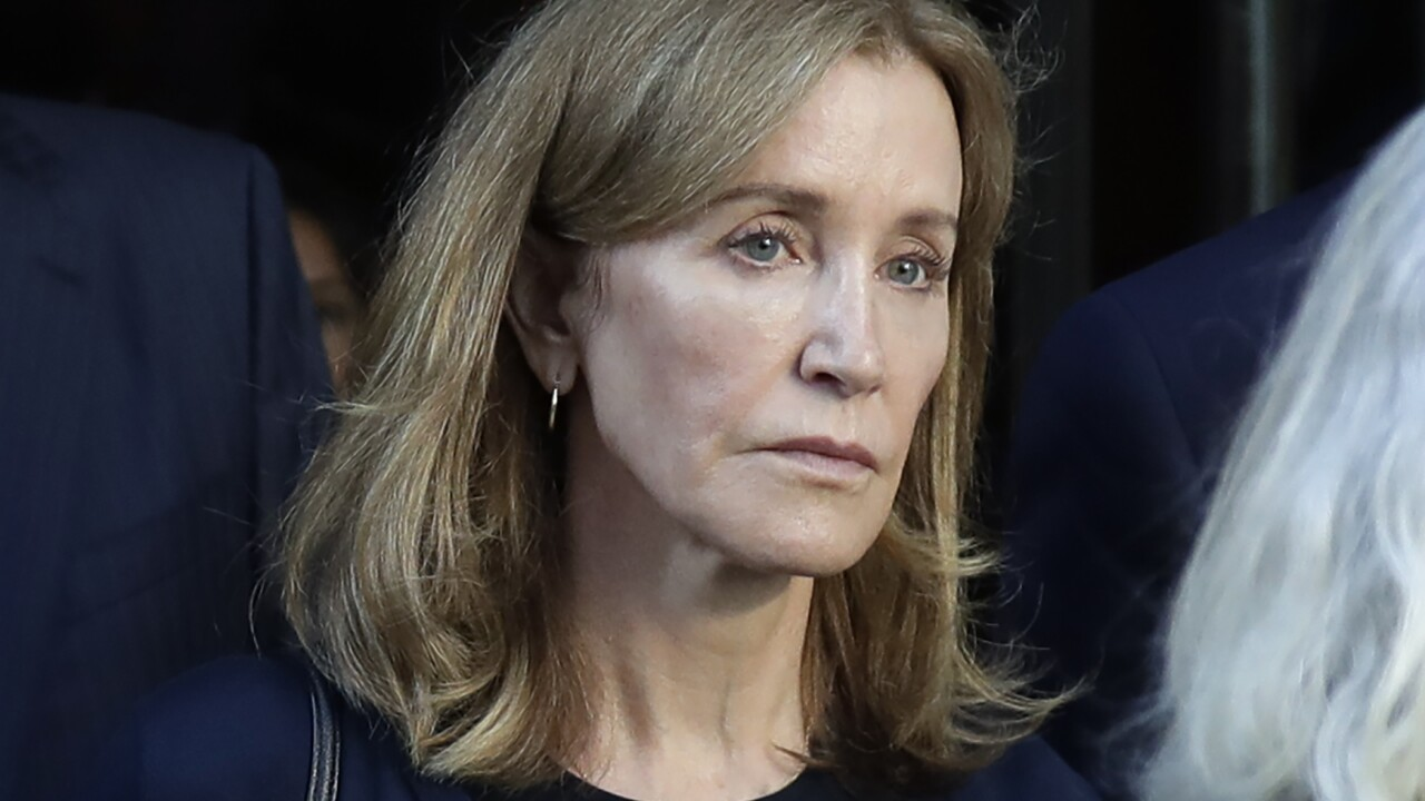 Felicity Huffman released from prison after serving sentence for college admissions scam