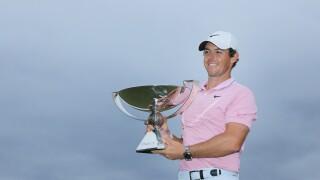 Rory wins tour championship