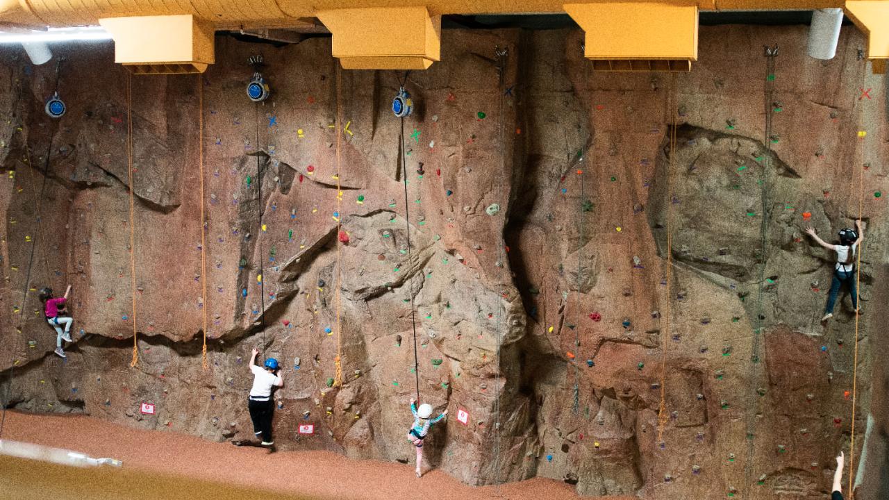 Apex rock wall