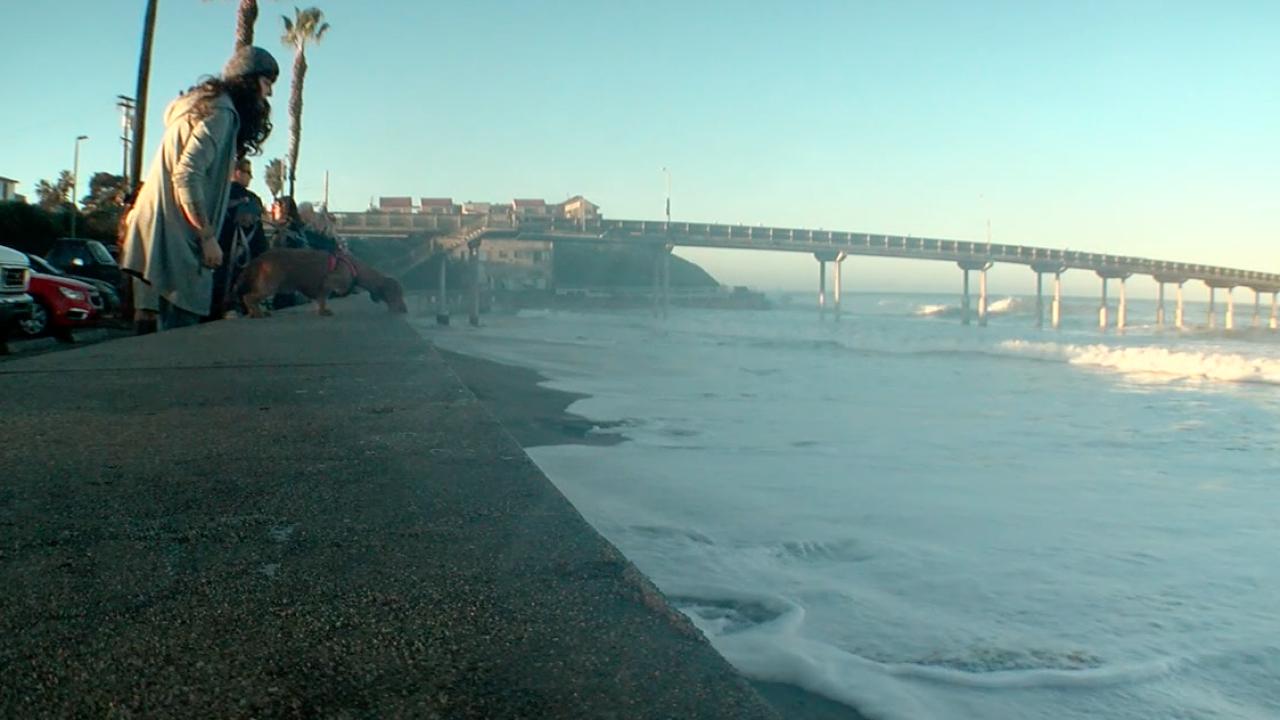 high surf ocean beach saturday jan 19