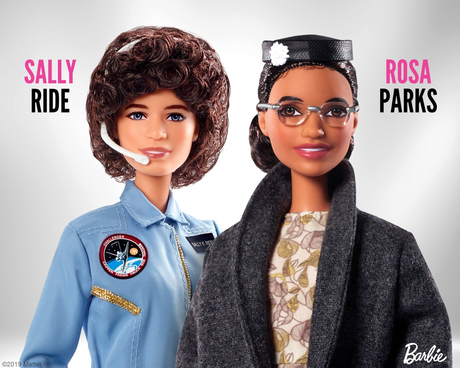 Photos: Rosa Parks and Sally Ride get their very own Barbiedolls