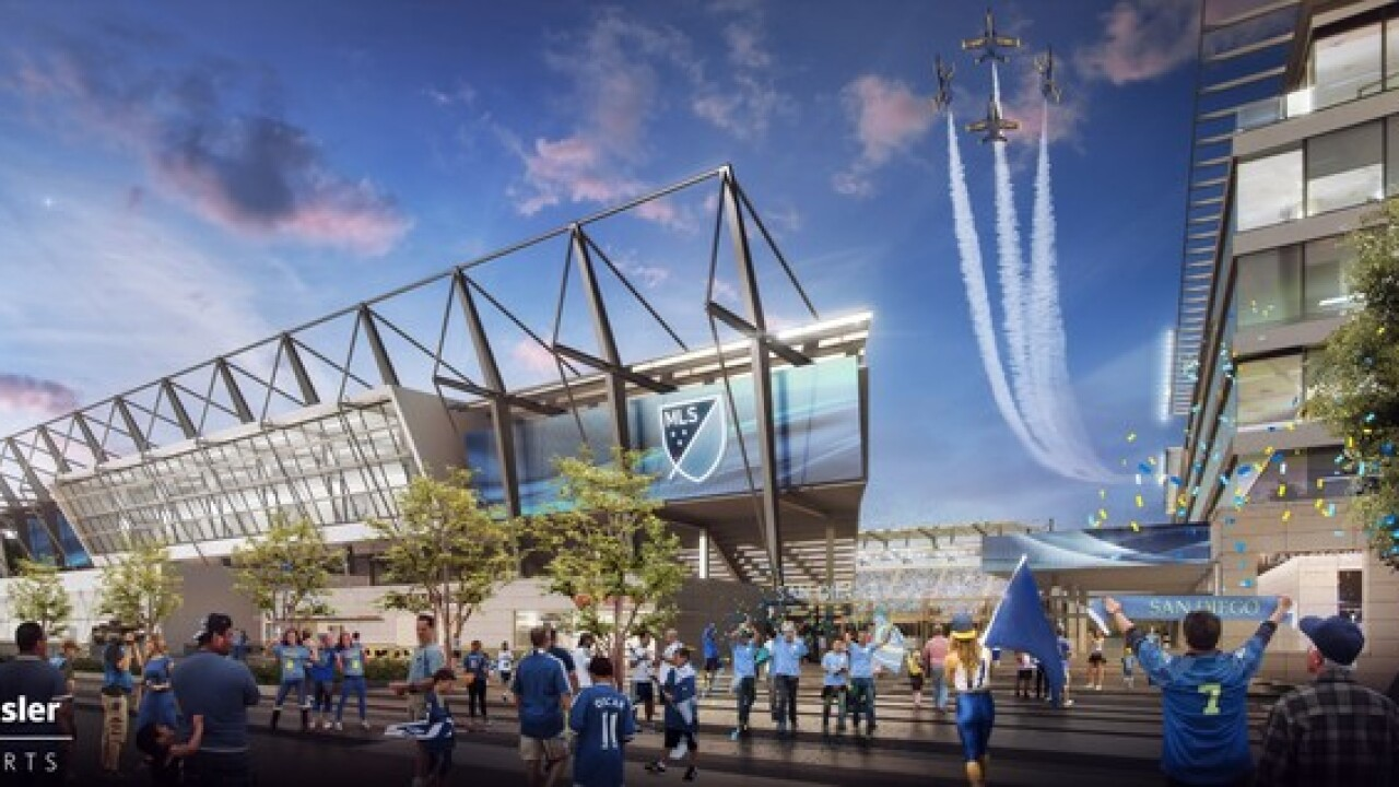 'Soccer City' could net San Diego $2.8B annually