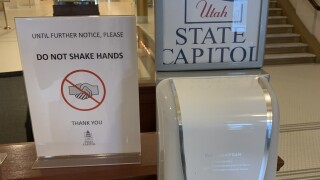 Don't shake hands at Capitol