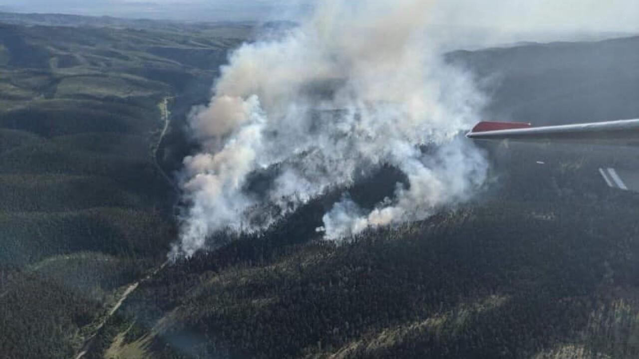 Deep Creek Fire