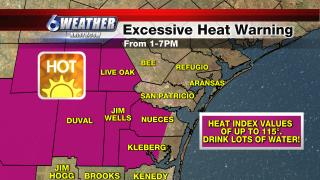 6WEATHER Excessive Heat Warning 6-21-21