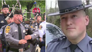 Virginia State Trooper's 'Amazing Grace' starts a powerful movement with music