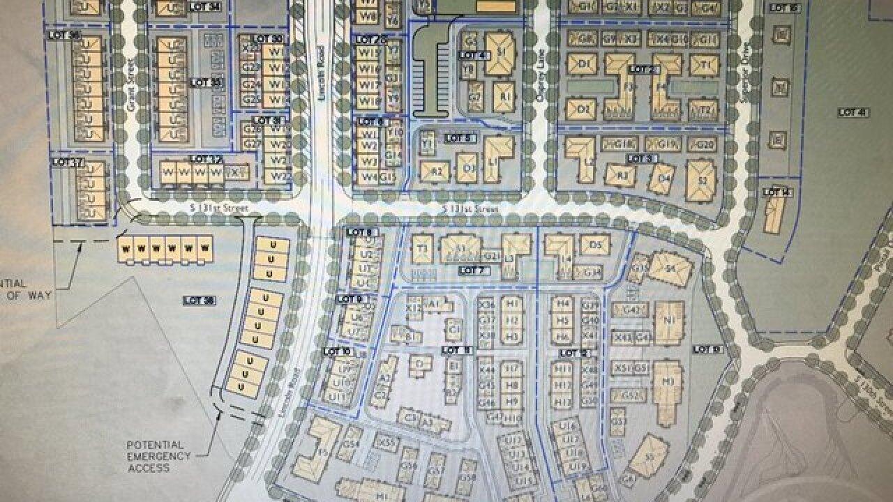 Neighborhood designed as a walkable community
