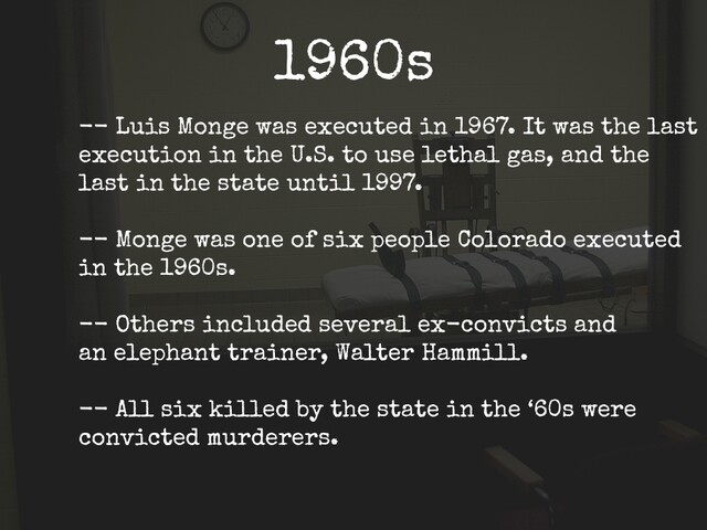 Gallery: The history of Colorado's Death Row