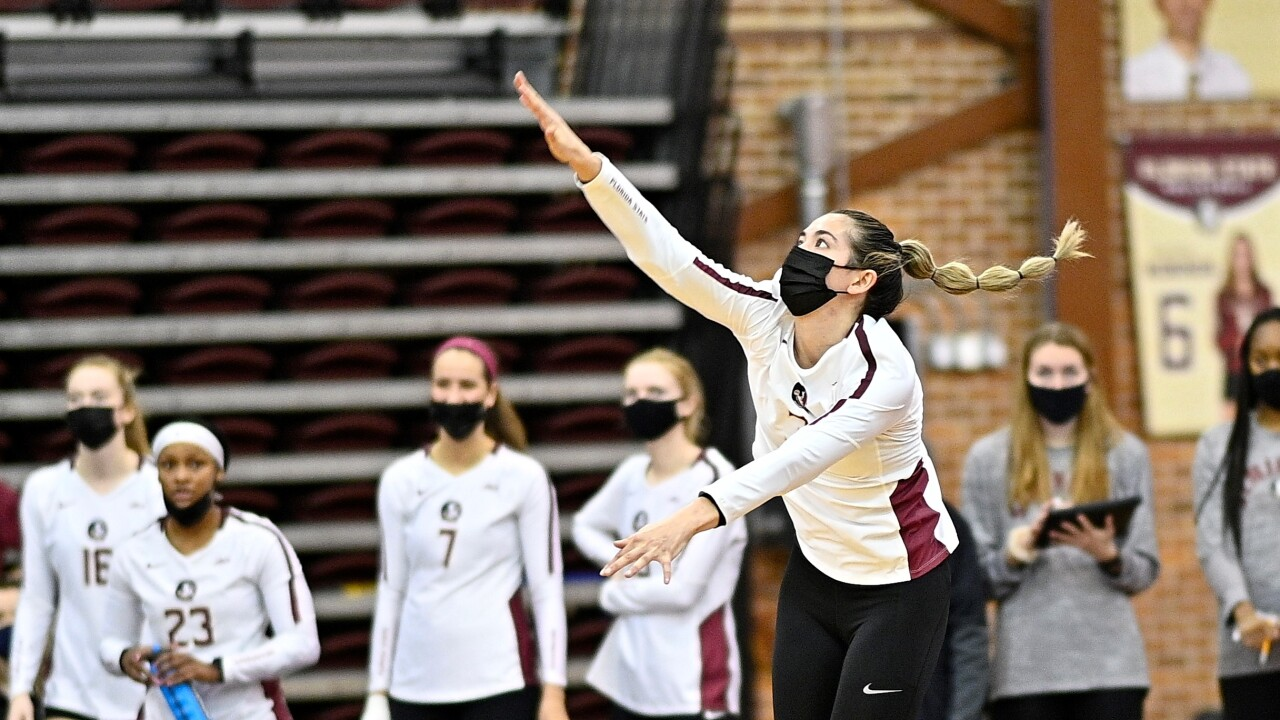 Florida State Volleyball defeats No. 14 Notre Dame in comeback thriller
