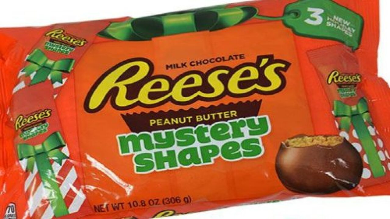 Reese's Is Releasing Peanut Butter Cups In Mystery Shapes For The Holidays