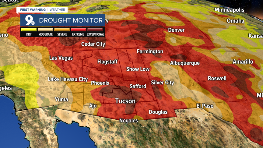 Drought expands across the Southwest