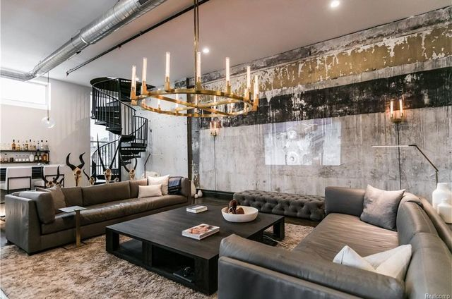 Most expensive loft in Detroit