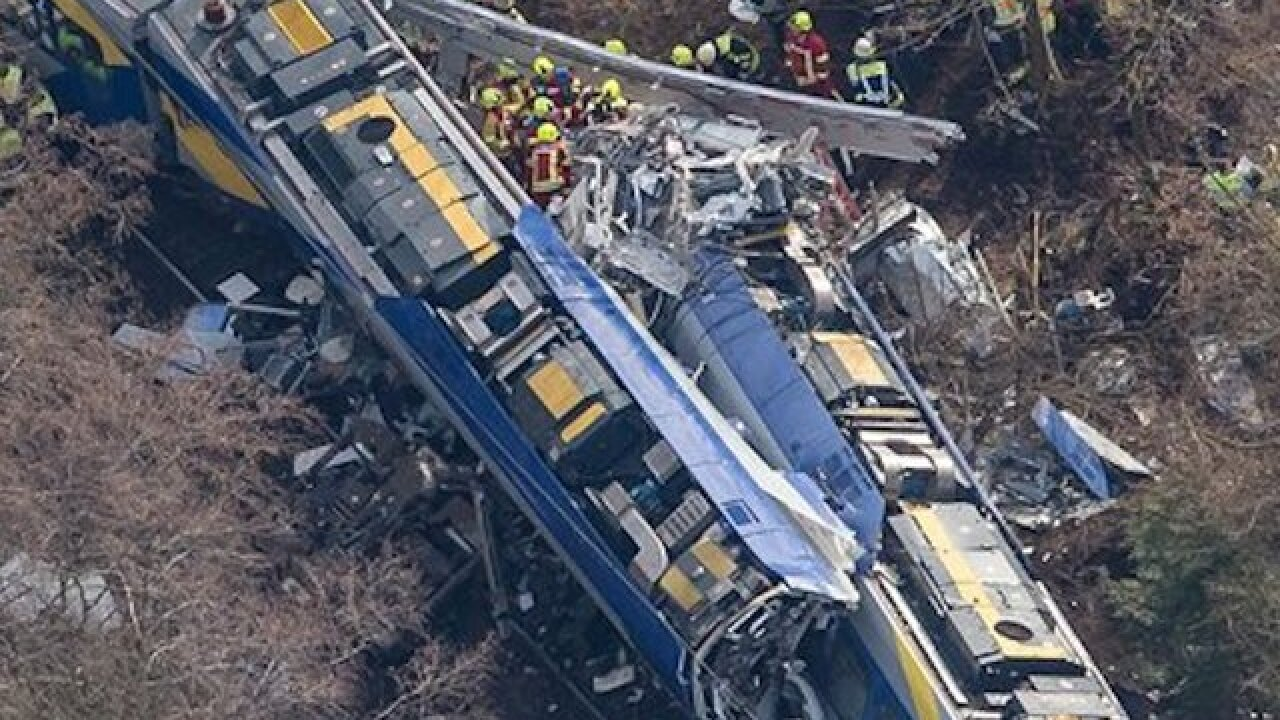 Death toll in German train crash rises to 8