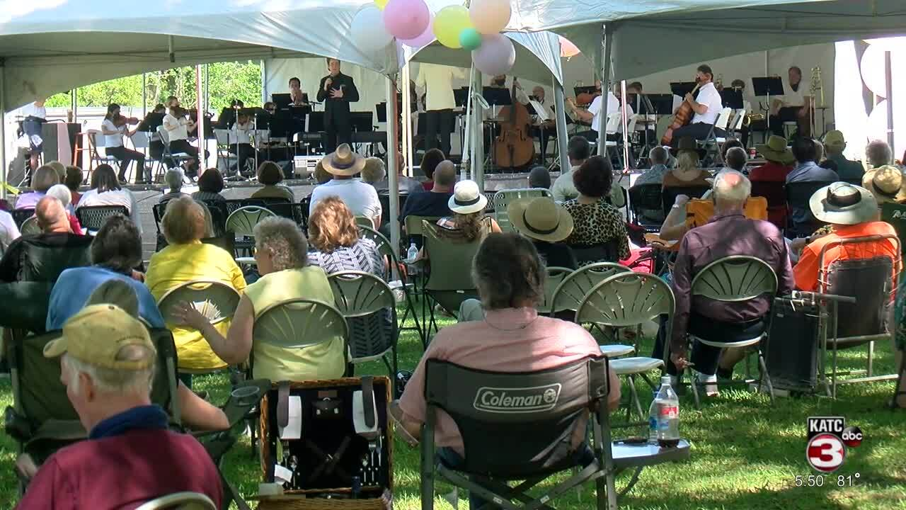 Symphony in the Park New Iberia