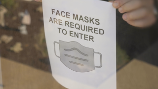 Can you ask someone to put on a mask?