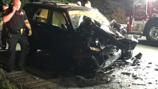 One dead after wrong-way crash
