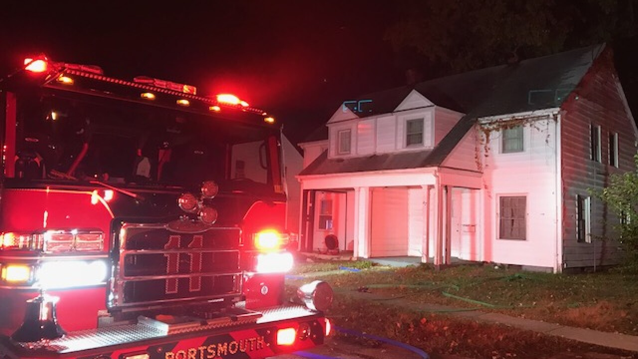 All occupants safe after Portsmouth house fire