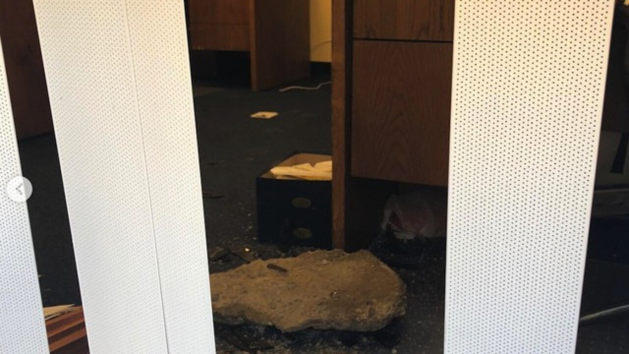 House Majority Leader Kevin McCarthy's California office vandalized