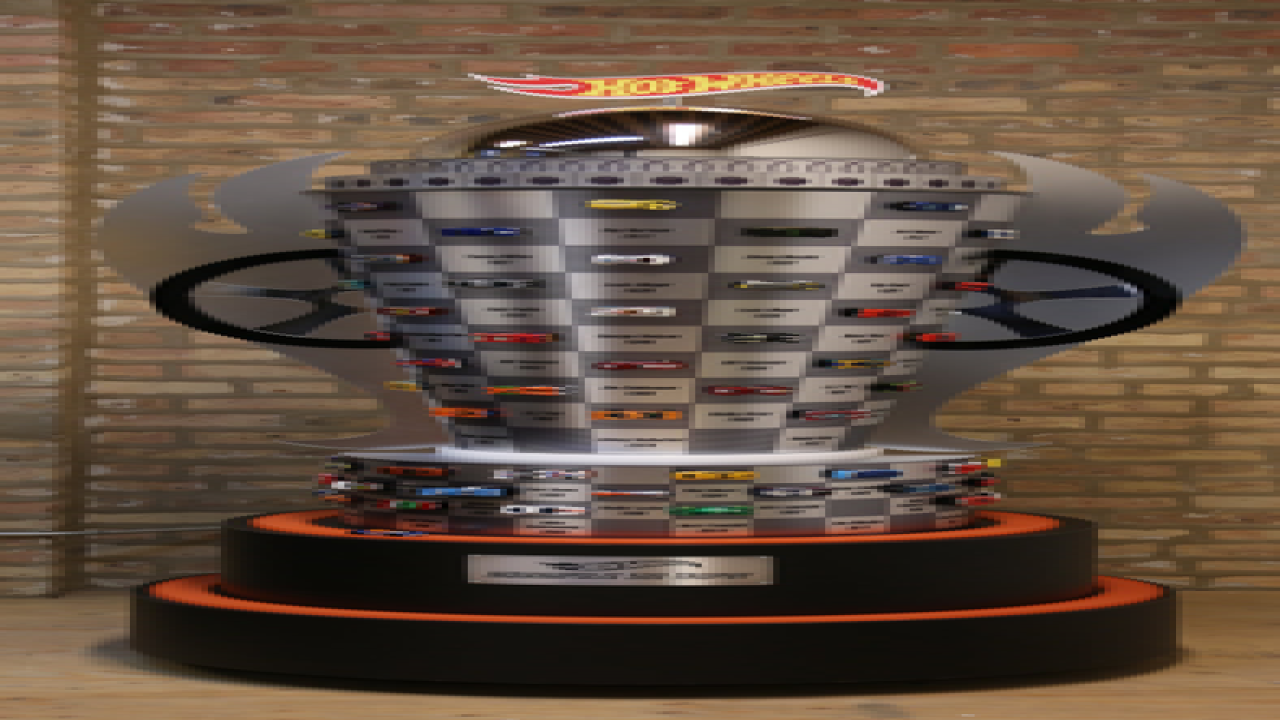 PHOTOS: Hot Wheels Indy 500 trophy