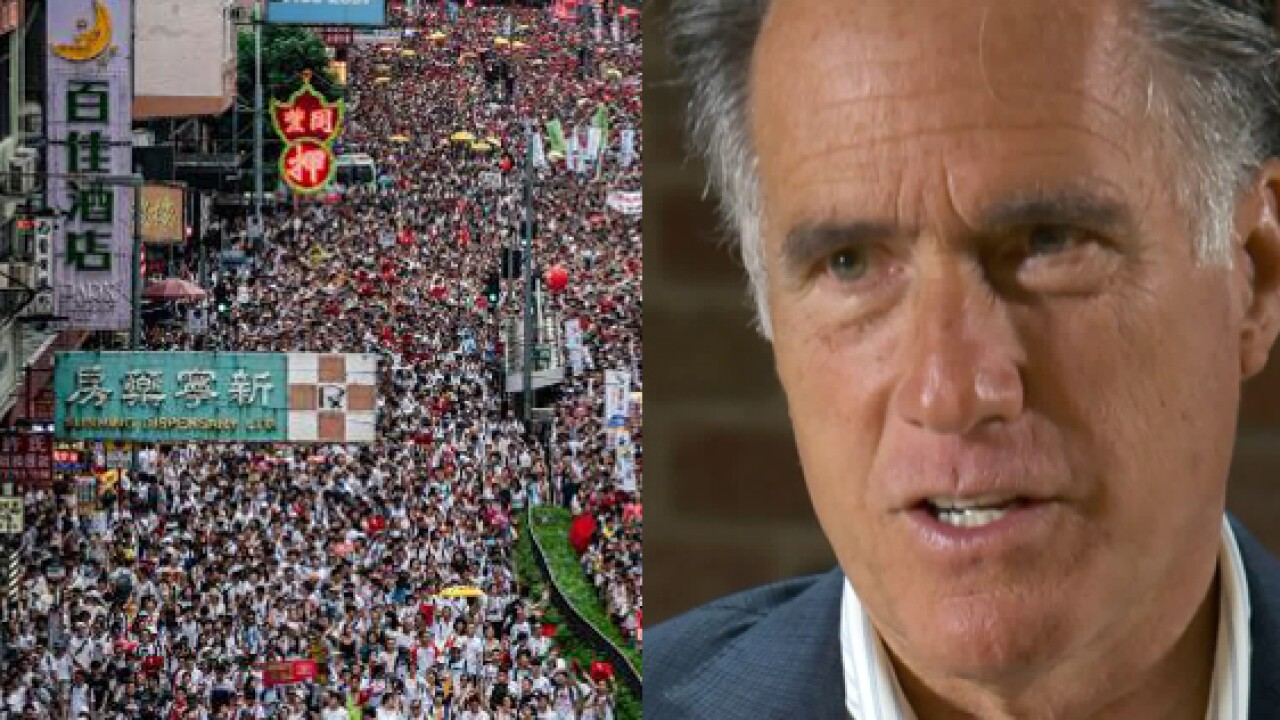 Romney: 'Critical for us to stand with the people of HongKong'