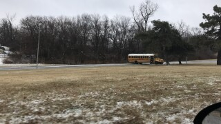 Bus crash blocking Cleaver II.jpg