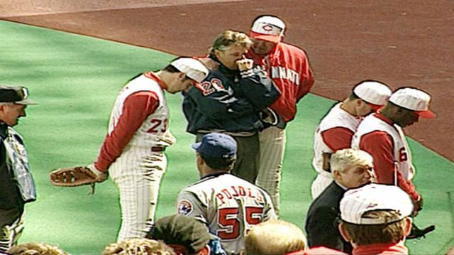 Umpire dies on field on Reds Opening Day