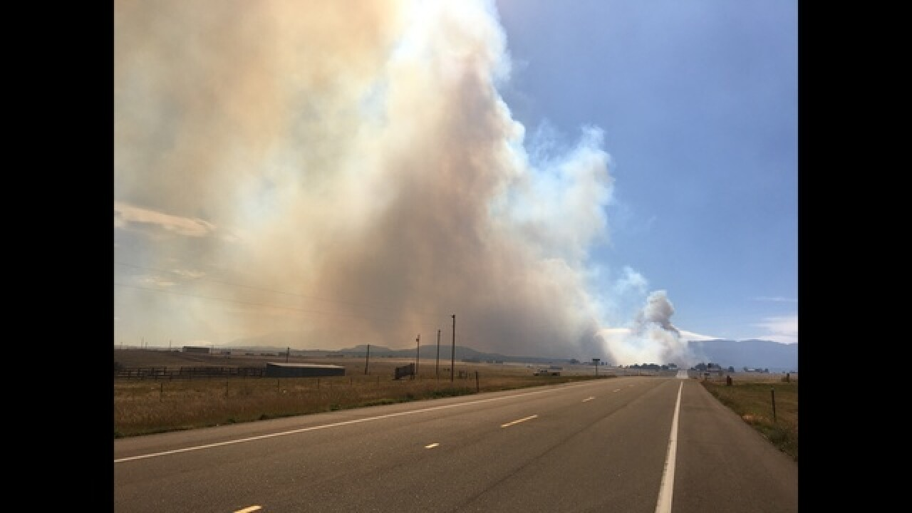 Beulah Hill Fire In Pueblo County Grows To 5 000 Acres