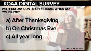 With 100 days until Christmas, when do you shop?