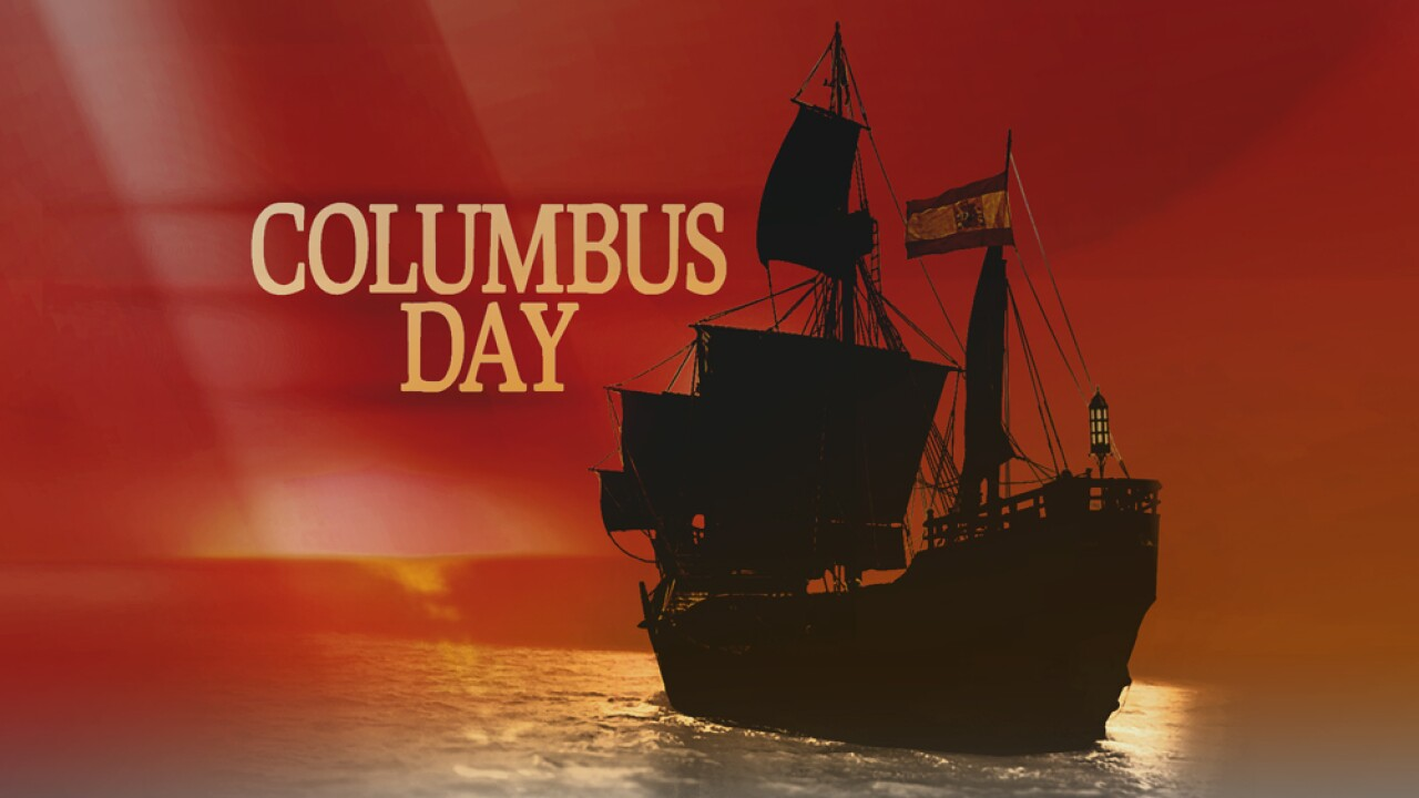 are banks closed on columbus day 2019