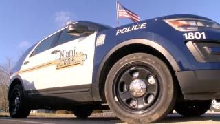 Miami Township police car