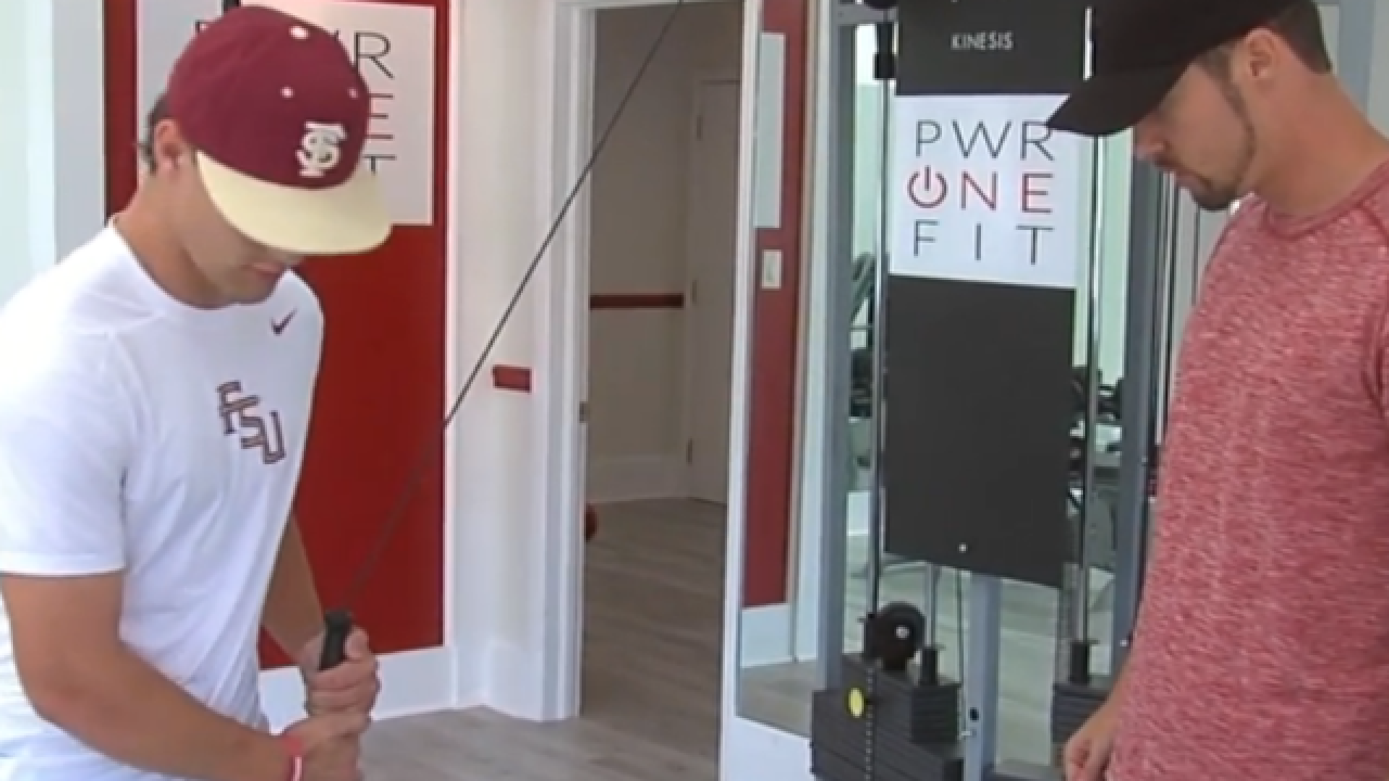 Local professional baseball trainer gaining traction with new gym on Palm Beach