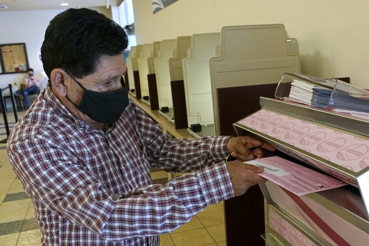 California Recall Voting Contract