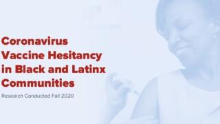 Coronavirus Vaccine Hesitancy
