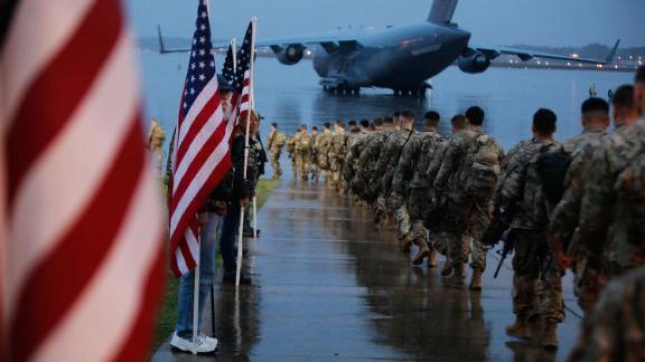 Some military families caught off guard as thousands of troops are deployed to the Middle East