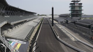IndyCar Indy 500 No Fans Auto Racing