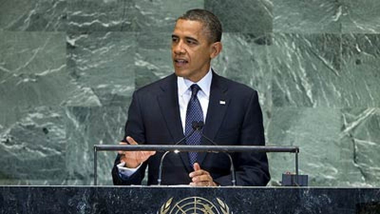 Obama confronts Iran, Syria; UNGA debate opens