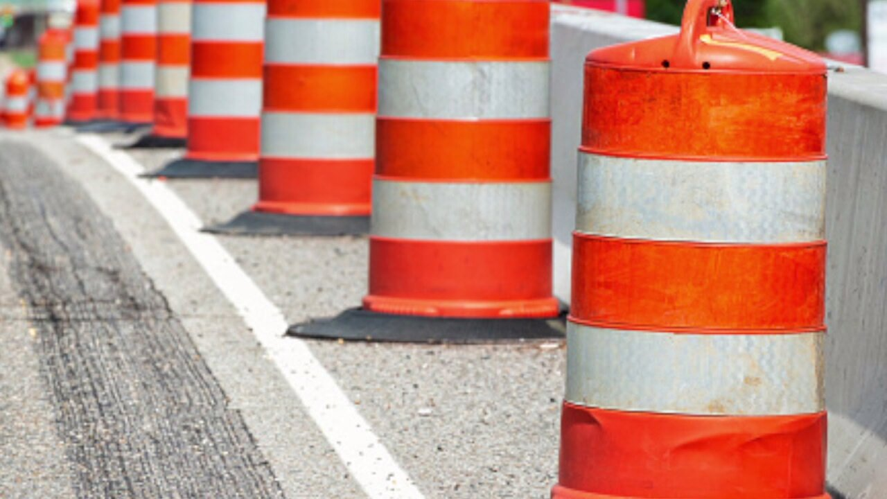 Road project extensions mark the week in construction