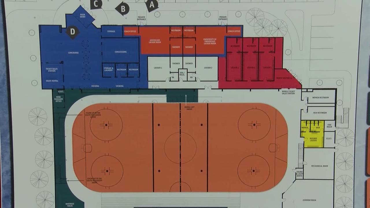 Great Falls Ice Plex renovation plan